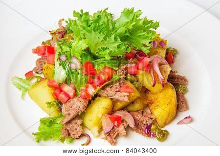 Swabian potato salad