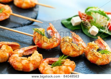 Appetizing Giant Shrimp Starter.
