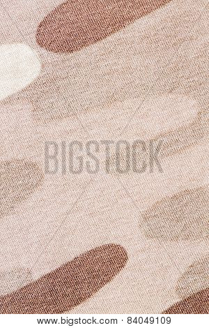 Camouflage fabric texture background