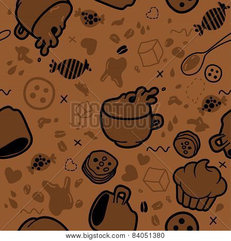 Endless Coffee Pattern