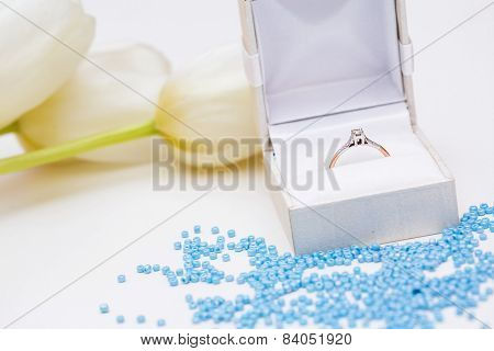 Tulip And Wedding Ring