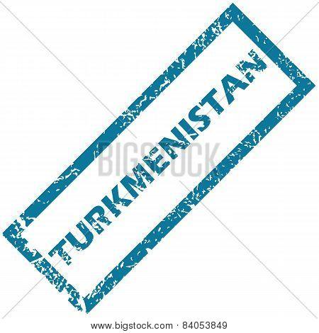 Turkmenistan rubber stamp