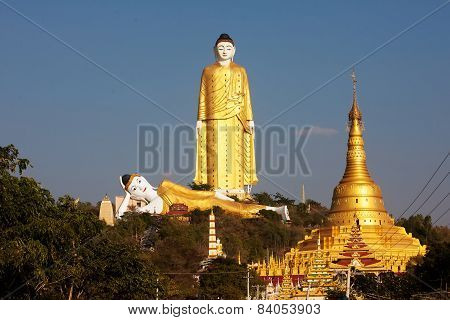 Bodhi Tataung Standing Buddha Is The Second Tallest Statue In The World
