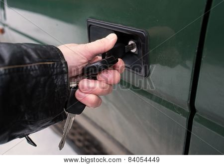 Locking A Car