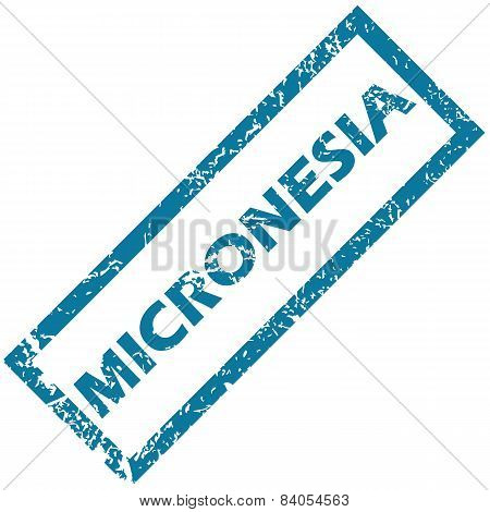 Micronesia rubber stamp
