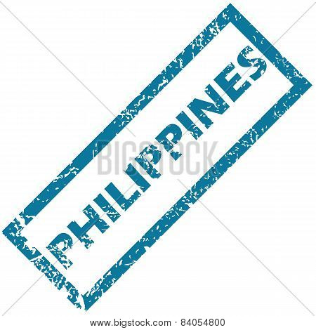Philippines rubber stamp