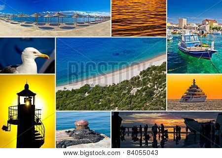 Mediterranean Coast Collage