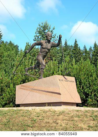 Lahti. Finland. Siiri Rantanen Statue