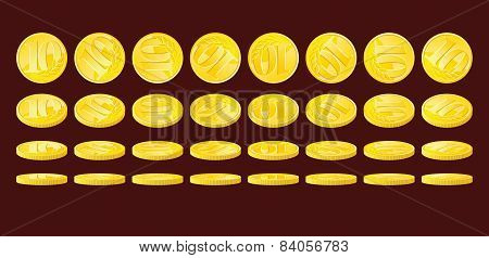 Golden Coins
