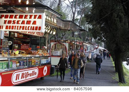 March Fair In Sarzana