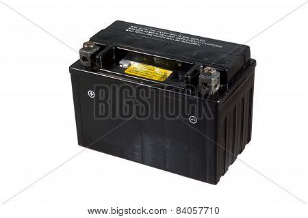 black battery for motorcycle