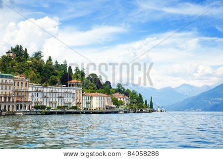 Como lake, Tremezzo town