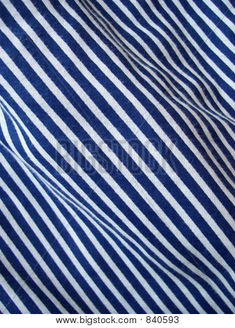 blue stripes fabric