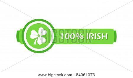 Stamp With Clover Leaf
