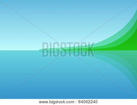Landscape Sea Shore