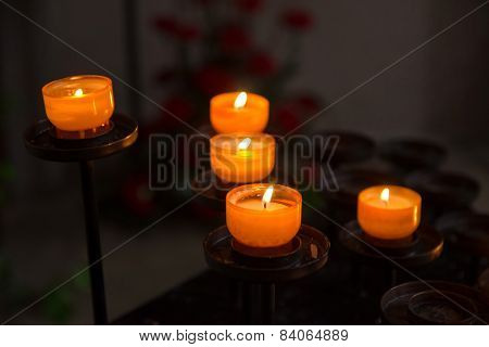 victims candles