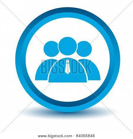 Blue leader icon