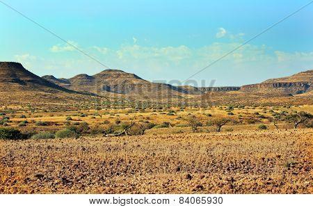 Mountain Region in Damaraland