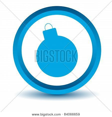 Blue bomb icon