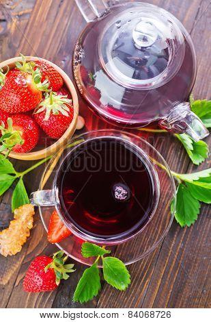 Strawberry Tea