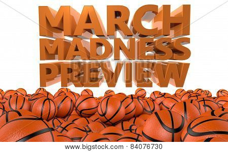 NCAA March Madness Basketball Preview