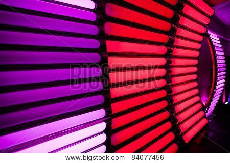 Stripped Light Background Texture