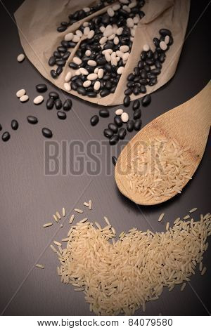 Rustic Beans And Rice
