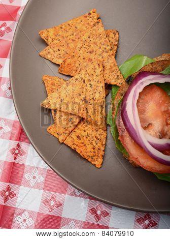 Vegan Burger Barbecue