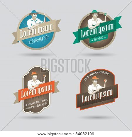 Label Or Logo For Fruit Based Products