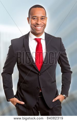 African Business Man