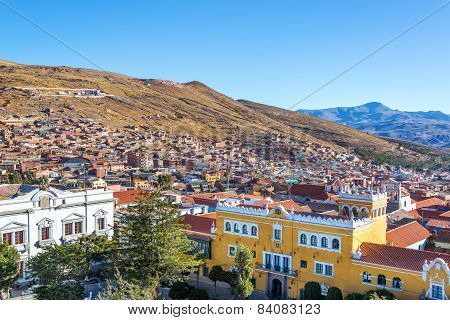 Historic Center Of Potosi, Bolivia