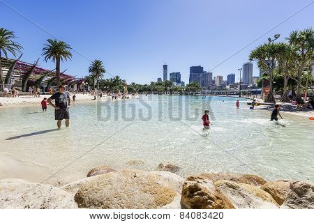 Streets Beach In Brisbane
