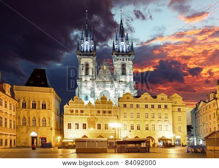 Prague Square - Old Town, Czech Republic