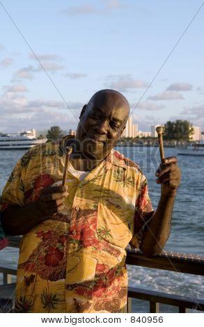 Caribbean Steel Drummer