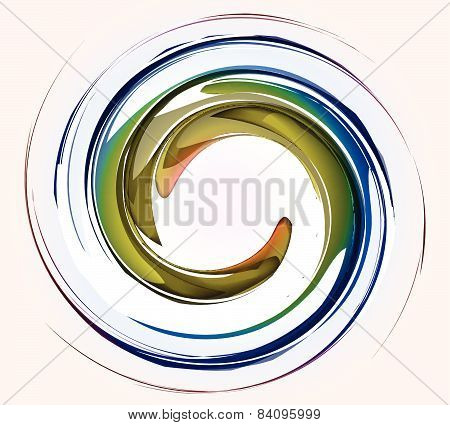 Spiral Abstract Color