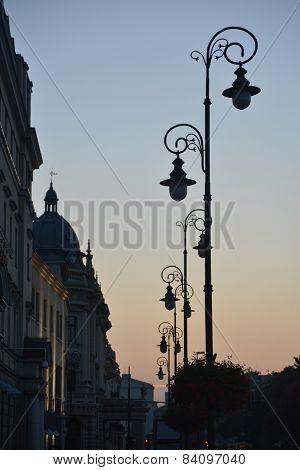 Lublin, Evening