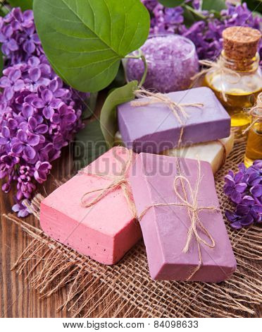 The Concept Of Aromatherapy - Soap And Flowers