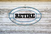 foto of retirement  - Retirement Concept  - JPG