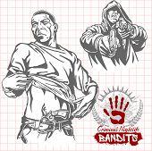 foto of hooligans  - Bandits and hooligans  - JPG