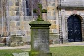 image of ten years old  - an old grave from a little ten years old girl - JPG