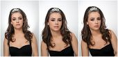 foto of tiara  - Hairstyle and make up  - JPG