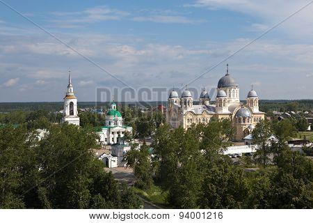 Verkhotursky St. Nicholas Monastery. Sverdlovsk region. Russia.