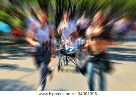 Abstract Background. Marathon With The Participation Of Disabled Persons In Wheelchair