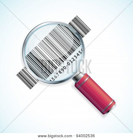 Vector magnifier and barcode