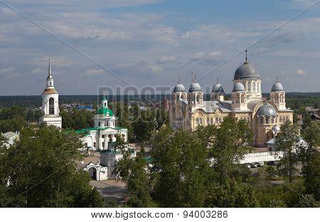Verkhoturye. St. Nicholas Monastery. Sverdlovsk region. Russia.