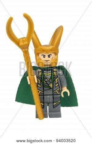 Loki Custom Lego Minifigure