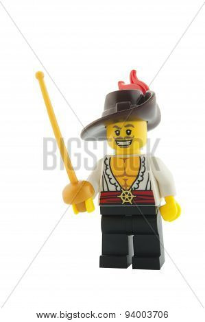 Swashbuckler Series 12 Lego Minifigure