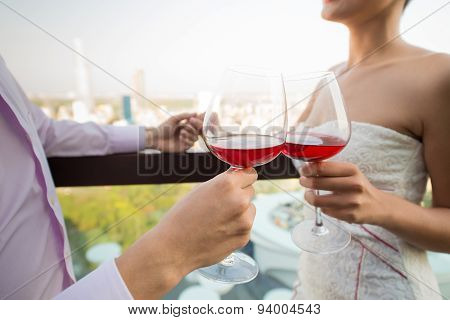 Clinking Wine-glasses