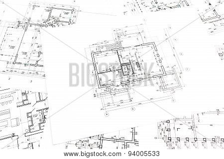 Architectural Construction Documents And Floor Plans