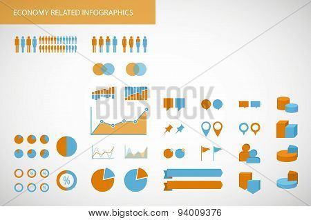 Education  Related Infographics Kit